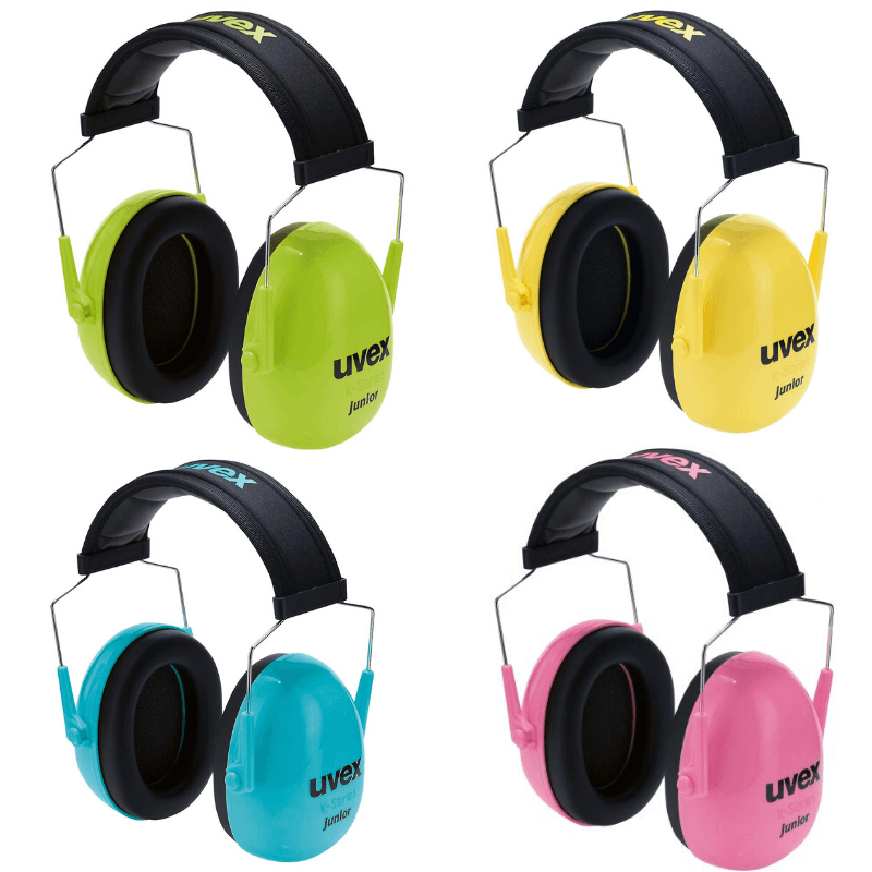 Uvex K junior casque antibruit